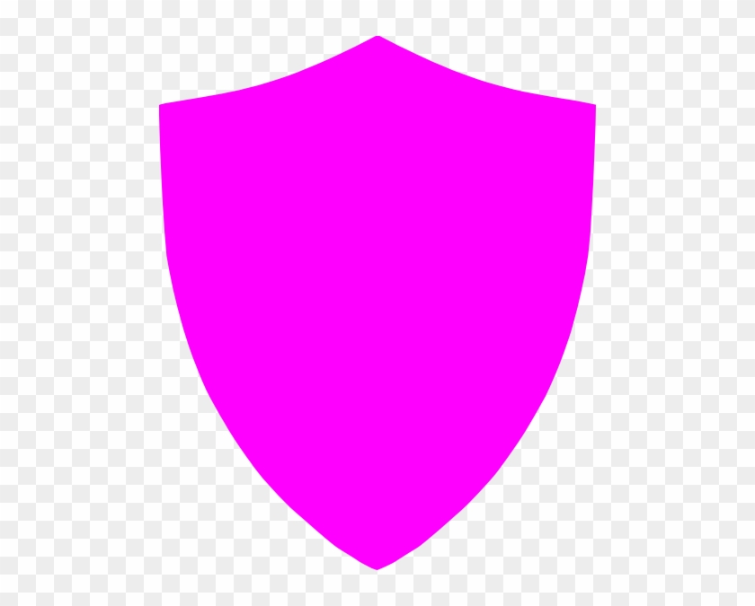 Pink Shield Clipart #98657
