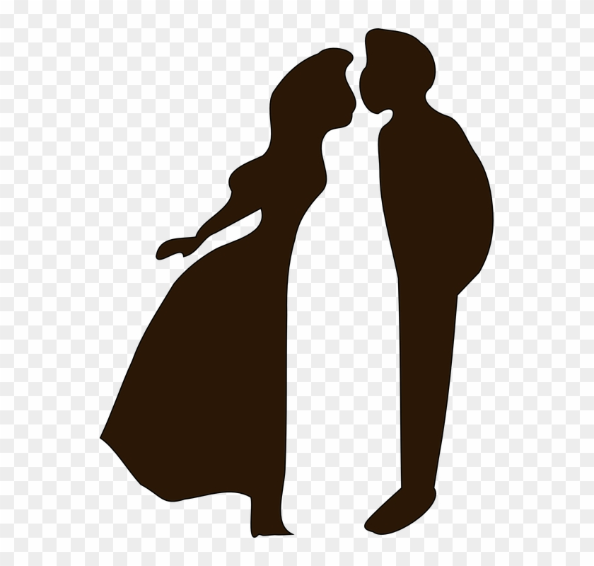 Shadows Clipart Wedding Couple - Romance Png #98670