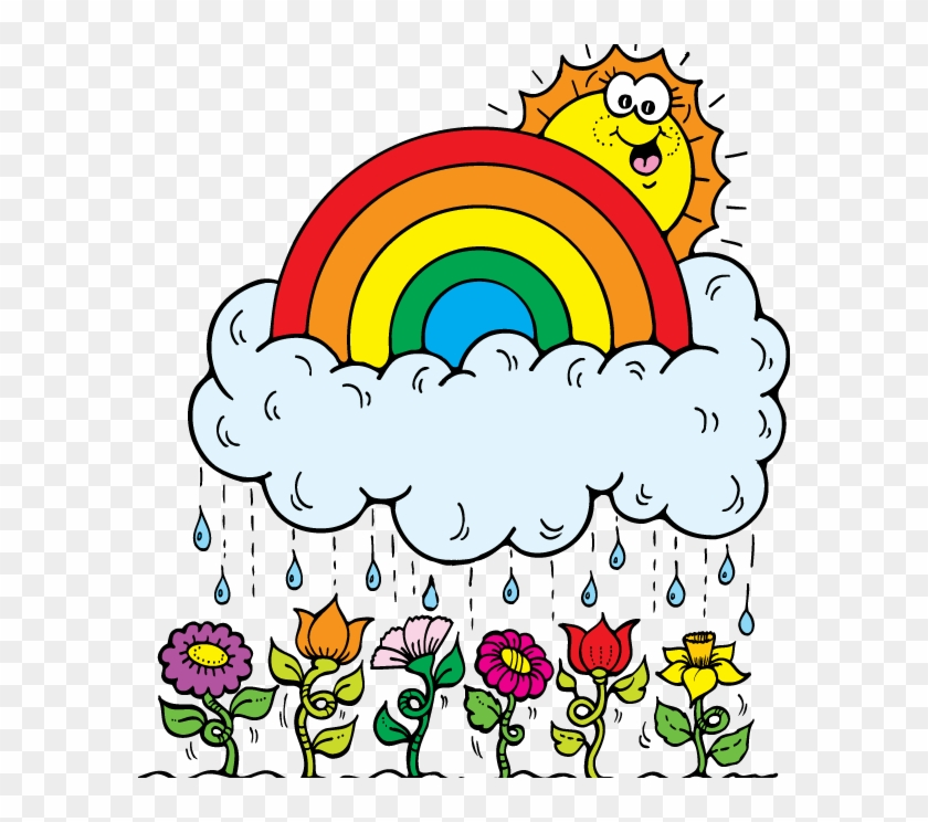 First Grade Newsletter - April Showers Clipart Free #98720