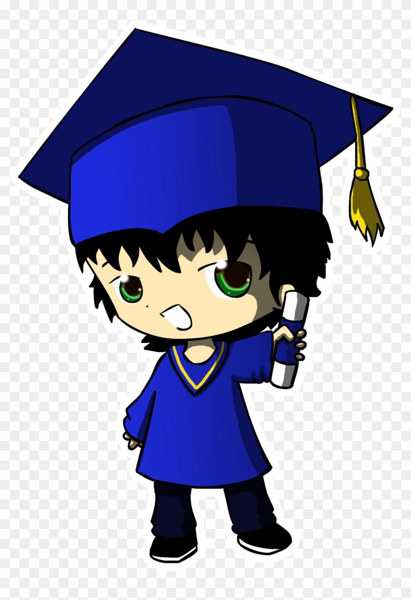 Graduation Logos Images - Anime Graduation Boy #98777