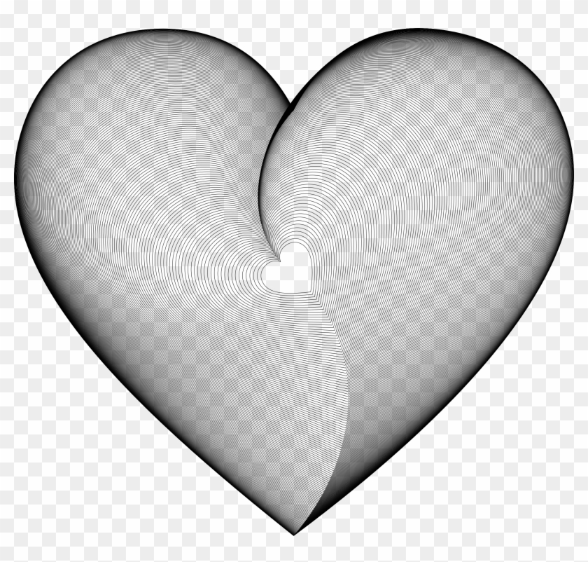 Hearts In Heart Line Art - Heart #98778
