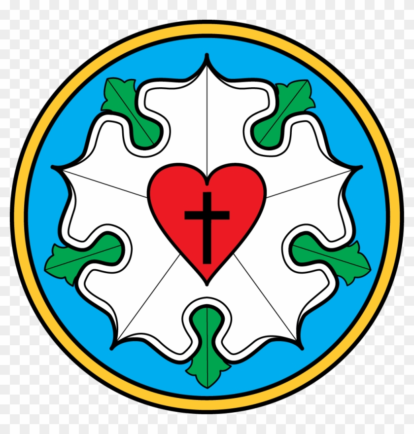 Evangelical Lutheran Church Newsletter Clip Art - Luther Rose #98808