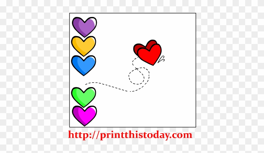 Made For Each Other Hearts Clip Art - Clip Art #98814