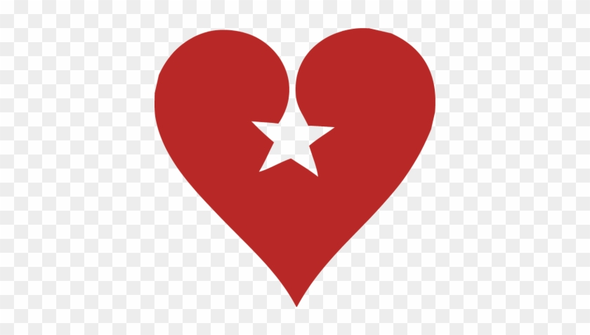 Hearts - Heart And Star #98866