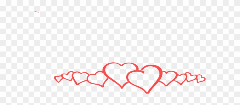 Hearts In A Line Png #98901