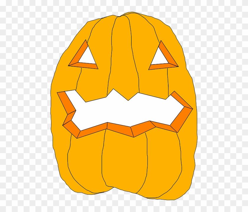 Halloween Pumpkin, Food, Plant, Halloween - Pumpkin Clip Art #98971