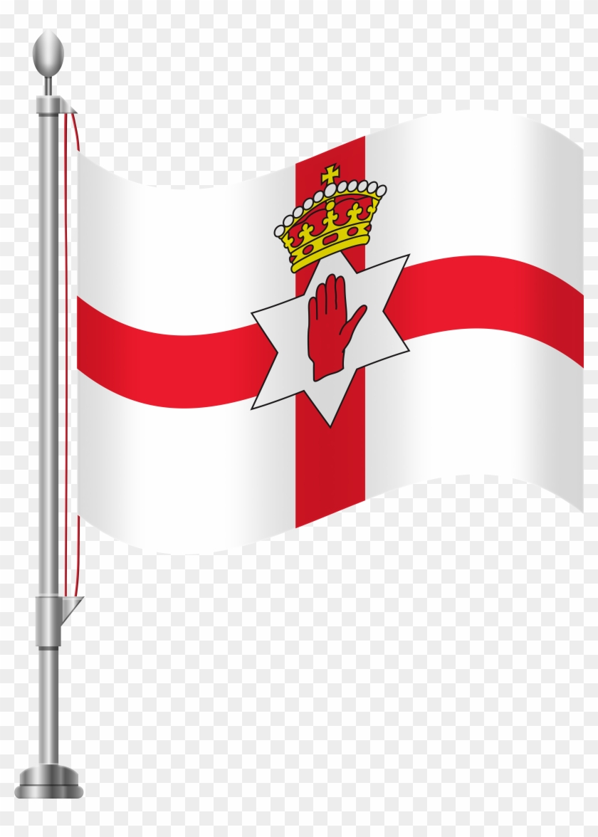 Northern Ireland Flag Png Clip Art - Northern Ireland Flag Png Clip Art #98997
