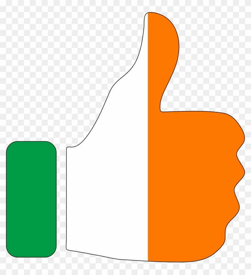 Big Image - Ireland Thumbs Up #99015