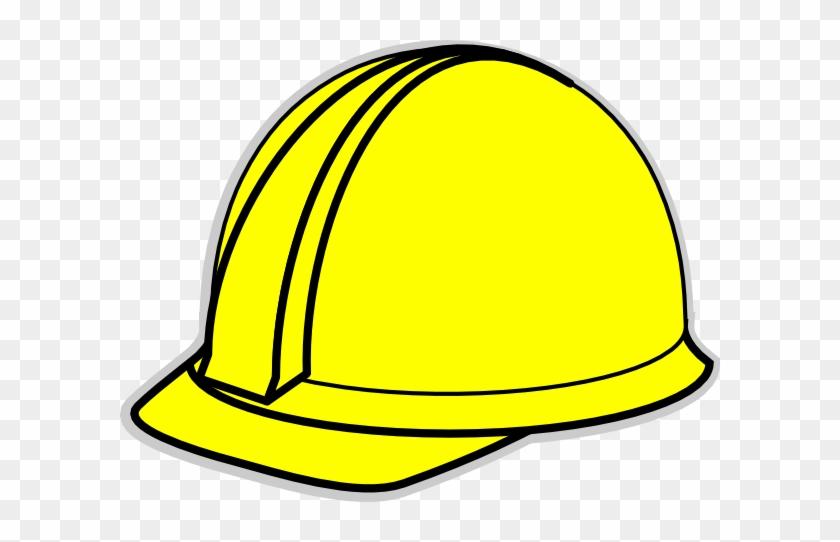 Yellow Hard Hat Clip Art At Clker Com Vector Clip Art - Construction Worker Hat Clipart #99023