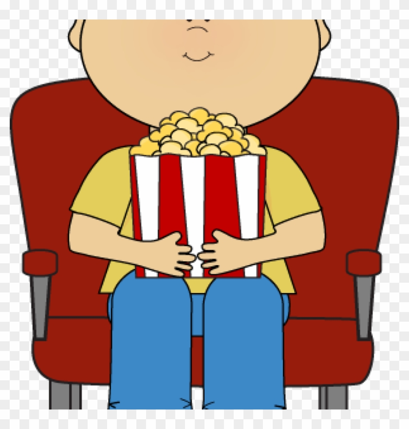 Movie Theater Clipart Boy In Movie Theater Clip Art - Mediakids Academy #99025