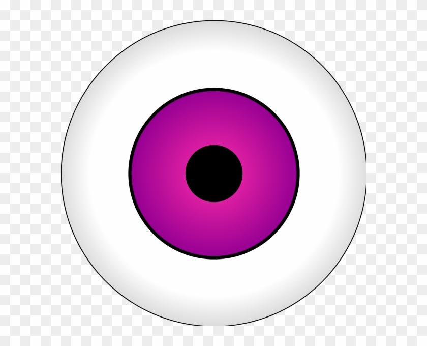 Eyeball Clipart Pink - Hardi #99059
