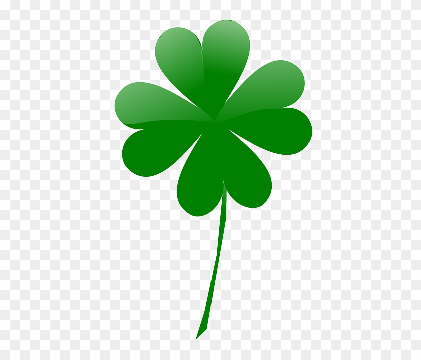 Leaf, Shamrock, March, Luck, Day, Irish, Four - 4 Leaf Clover Png #99070