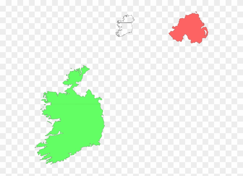 Ireland Land Drawing Clip Art - Richest Counties In Ireland #99140