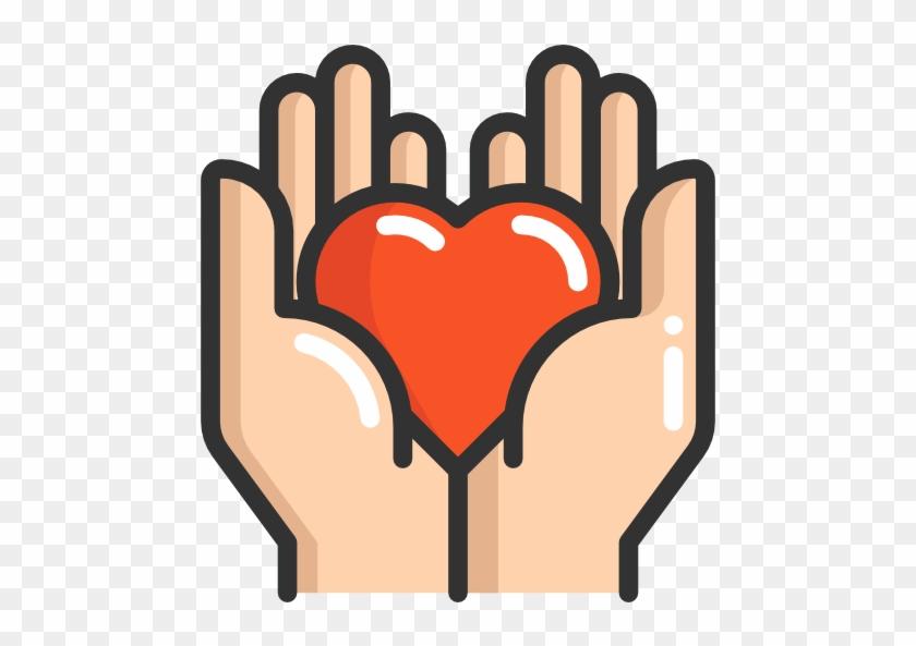 Size Donation Hand Symbols Free Transparent Png Clipart Images