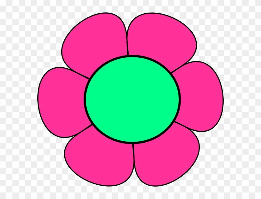 Pink Flower Clipart - Flower Pink Clip Art #99368