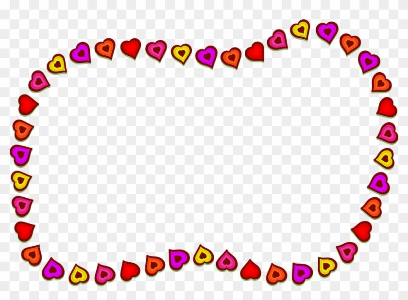 Hearts Shapes Border Frame Blank Copyspace - Khung Hình Trái Tim #99477