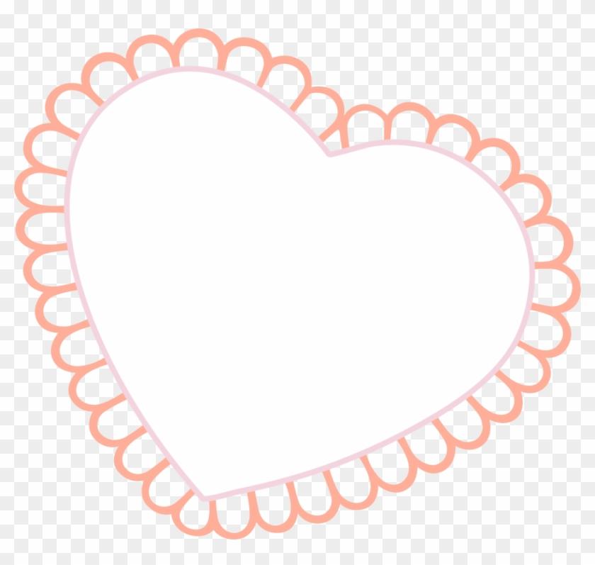 Heart-shaped Lace Border - Color Wheel #99493