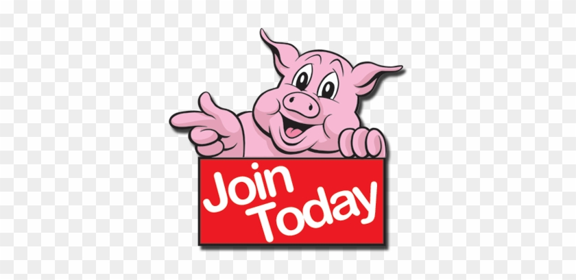 Bbq Pig Logo - We Want You Pig #99494