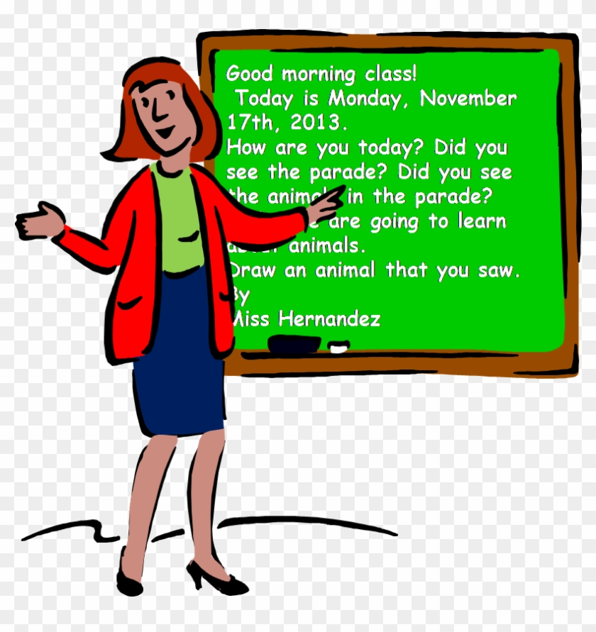 Career Day Clip Art - Teacher #99498