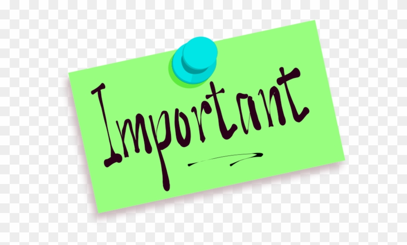 Important Points Free Clipart - Remember Clip Art #99565