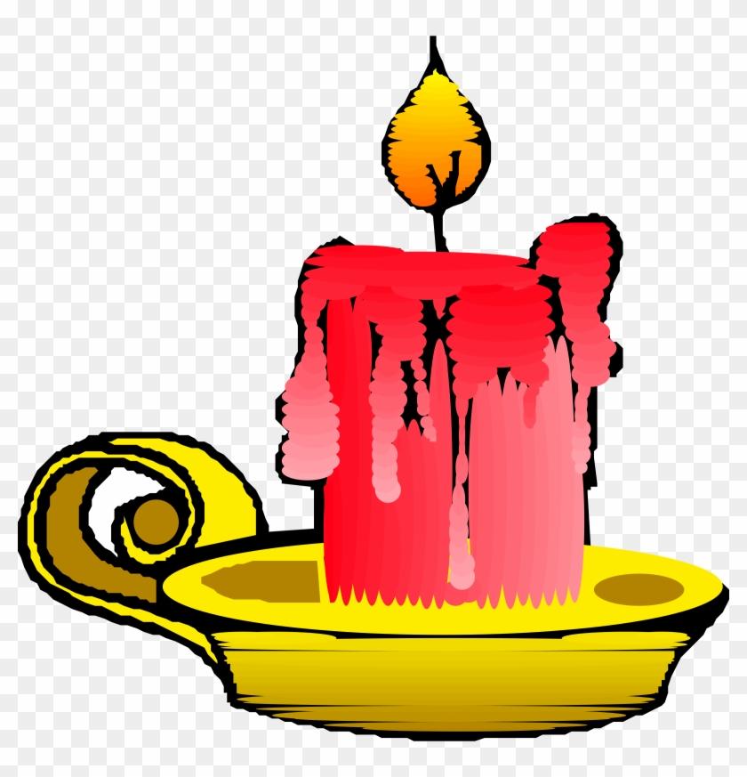 Candles 2 Clip Art Download - Candle Clip Art #99593