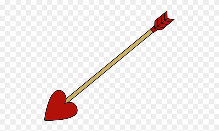 Valentine's Day Arrow - Valentine Arrow Png #99643
