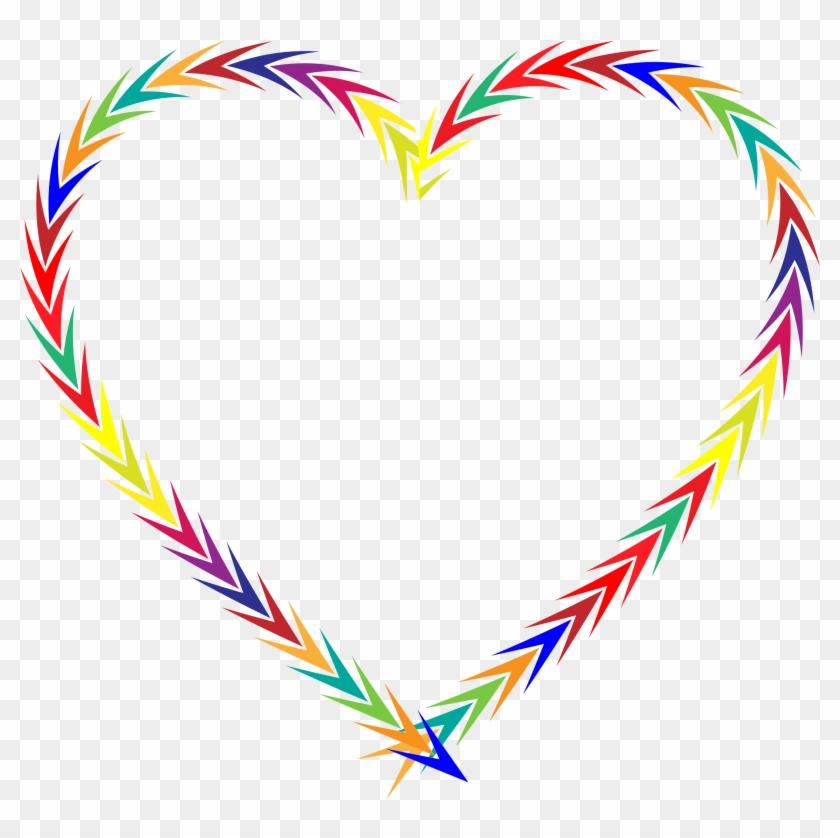Arrows Heart - Portable Network Graphics #99668