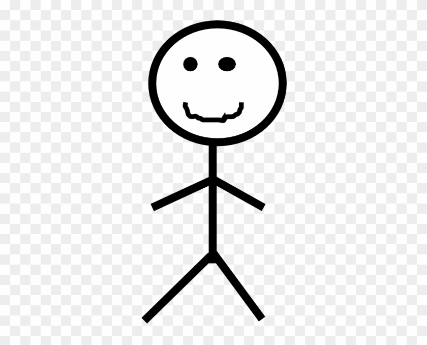 Smiling Stick Figure Png #99677