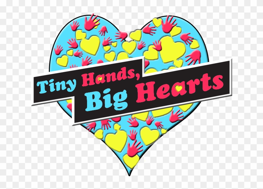 Tiny Hands Big Hearts Logo - Bigolin #99748