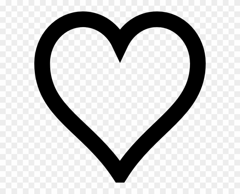 Clipart Interesting Ideas Black Heart Clip Art Group - Dil Black And White #99756