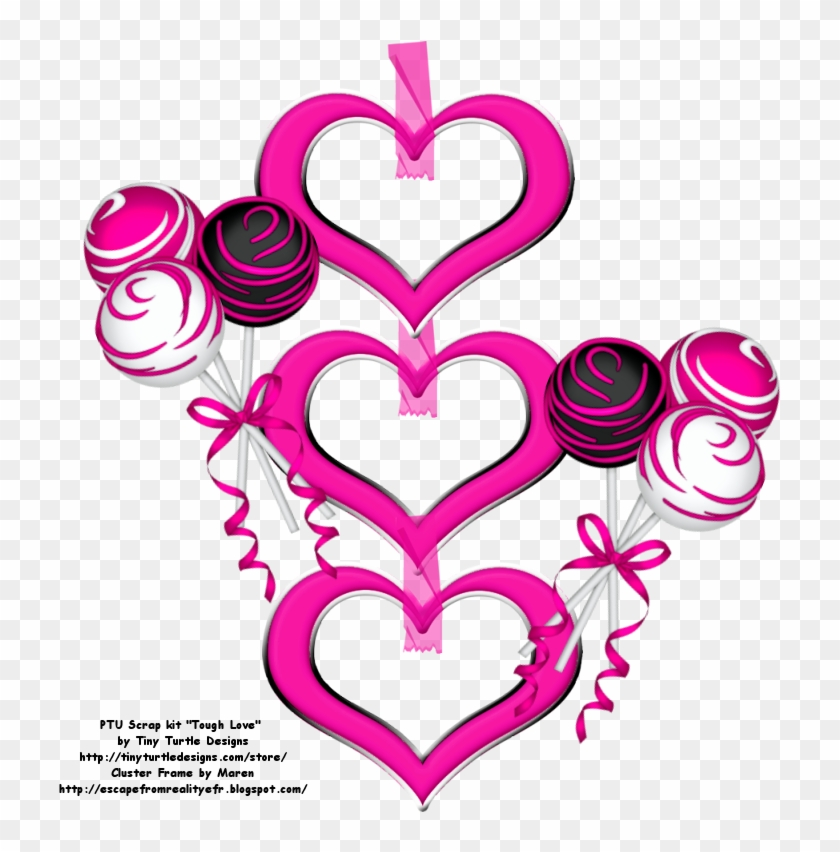 Then Right Click And Select Save Image As - Valentine Cluster Framet Png #99797