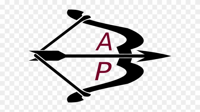 Bow Arrow Black Letters Ap Clip Art At Clker - Letters Images For Ap #99833