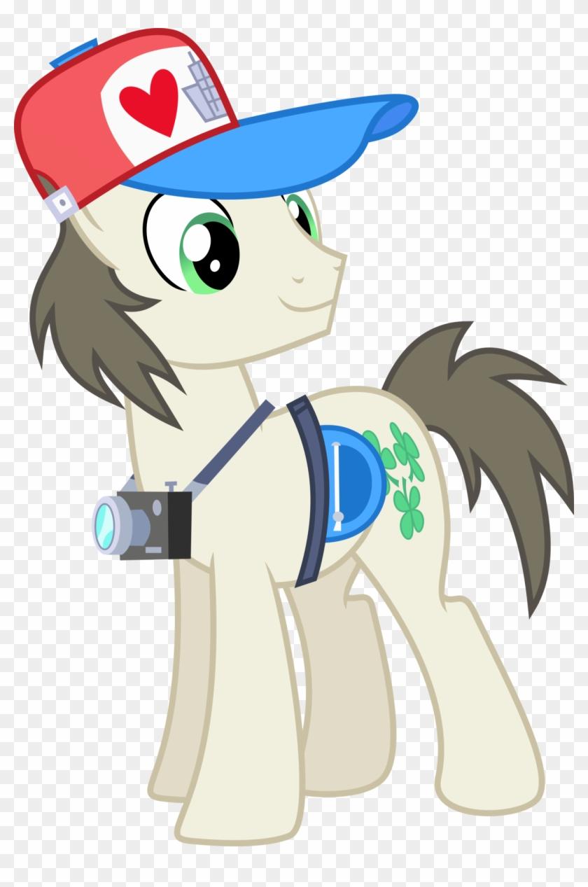I Heart Manehattan Tourist Pony By Chainchomp2 - Mlp Ponies From Manehattan #99867