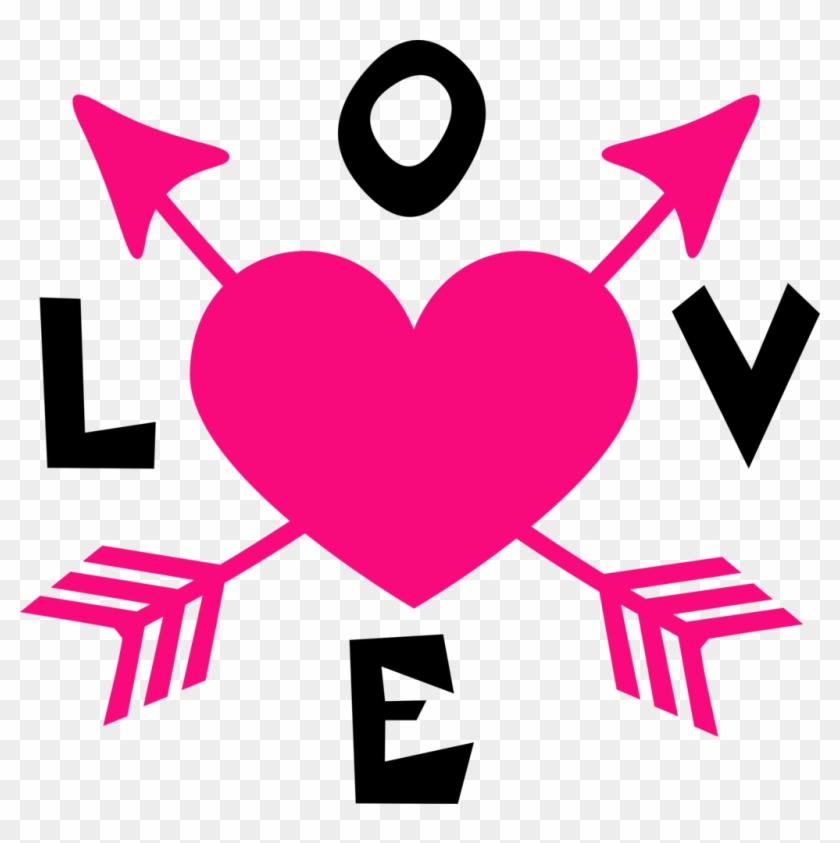 Love Arrow Heart - Açaí Na Tigela #99891