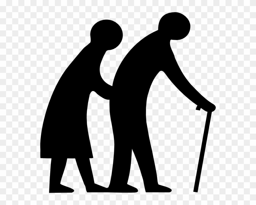 Seniors Crossing Clip Art At Vector Clip Art Online - Maintenance And Welfare Of Parents And Senior Citizens #99900