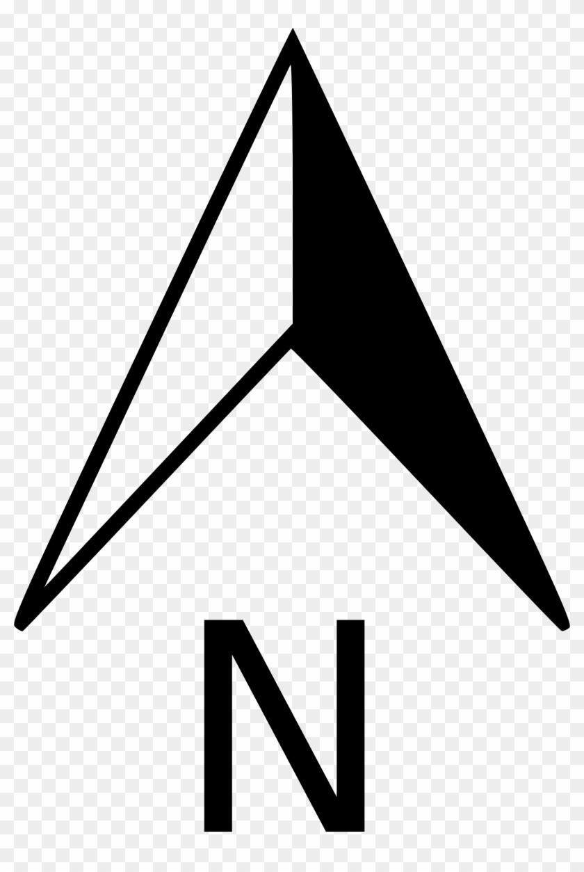 North Arrow Orienteering Clip Art - North Arrow No Background #99943
