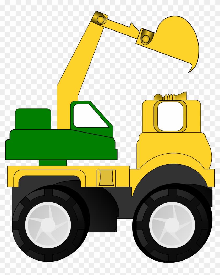 Crane Clip Art - Construction Truck Clip Art #99963