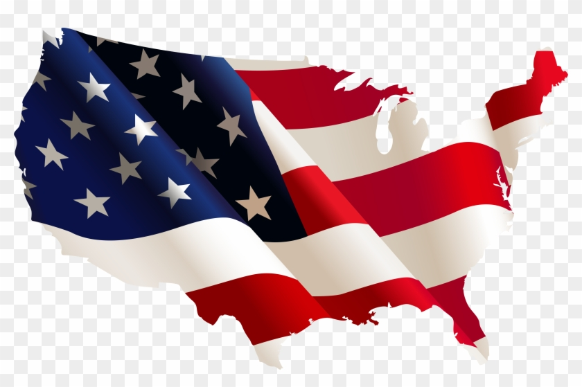 Services We Offer - United States Map Flag #99991
