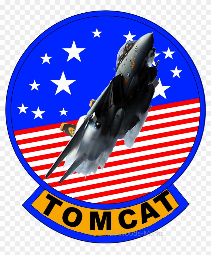 Felixnutstomcat F-14 Logo With Jet By Felixnutstomcat - Air Force #99994