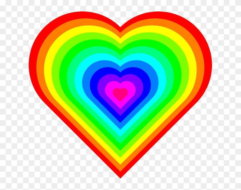 Hearts Rainbow #100006