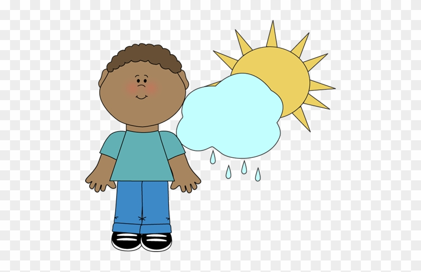 Realistic Weather Cliparts - Classroom Jobs Weather Reporter #100035