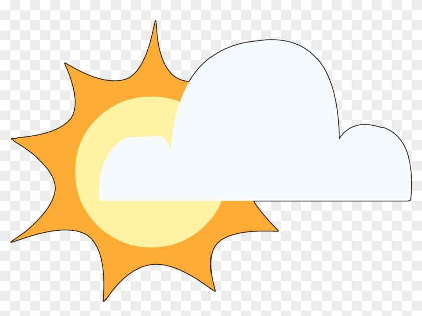 Partly Cloudy Pictures - Mlp Cloud Cutie Mark #100075