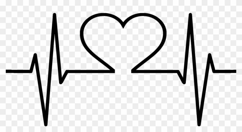 Clipart - Heart Image Black And White #100088