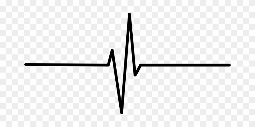 Heartbeat Ekg Ecg Pulse Heart Rate Heart P - Heartbeat Png #100107