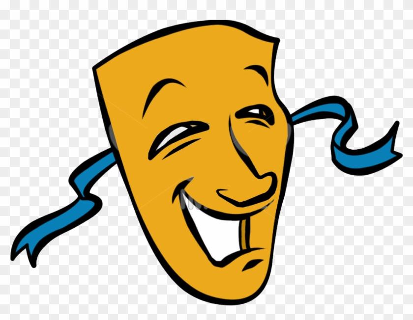 Image Description - Comedy And Tragedy Masks #100143