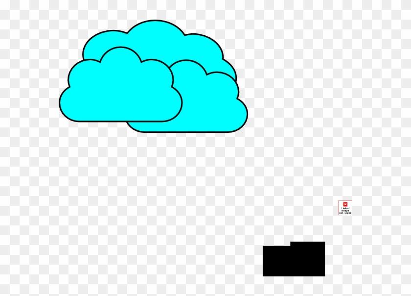 Green Cloudy Clip Art - Green Cloudy Clip Art #100247