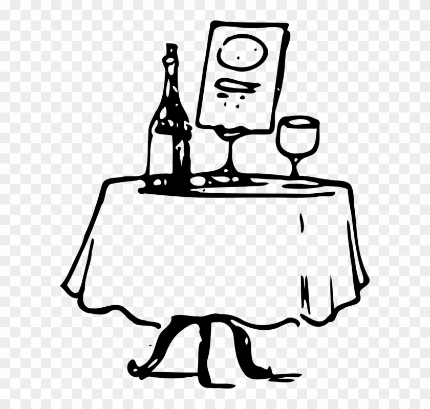 Featured Comedy Sticky Short Farcical Comedy About - Fancy Dinner Table Clipart #100335