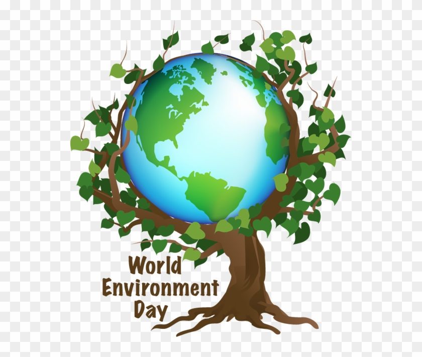 Problems Affecting The Earth, But It's Also An Opportunity - World Environment Day Logo #100380