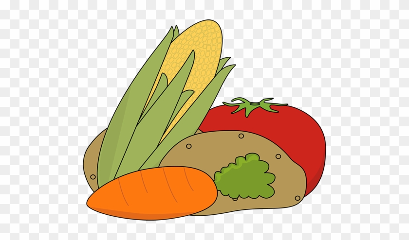 Cute Fruits And Vegetables Clipart - Clipart Vegetables #100515