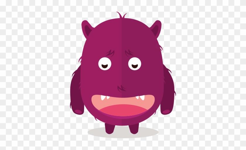 Cute Fun Monster Clipart - Fun Monster #100567